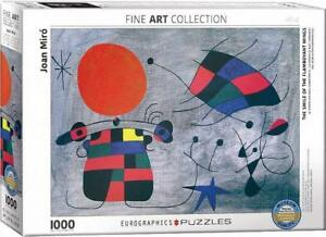 Eurographics Puzzle 1000 Pc Joan Miro La Sourire aux Ailes Flamboyantes 60000856