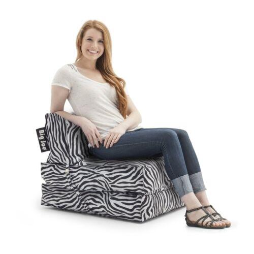 Comfort Research Big Joe Flip Lounger in SmartMax Febrics-Zebra 634182 Lounger