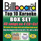Billboard Top 10 Karaoke, Vol. 4 [Box] by Sybersound (CD, Aug-2007, 4 Discs, Sybersound)