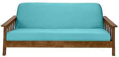 Jersey Stretch Futon Cover Slipcover Aqua Visit Our Ebay Store Xx Ebay