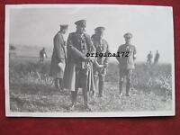 Foto,Fotopostkarte mit Generalfeldmarschall von Hindenburg