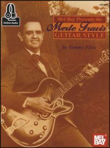 Details about Merle Travis Guitar Style TAB Music Book with Audio Tommy  Flint Country Western