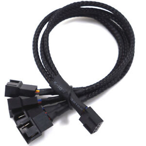 5 pin to 4 pin Fan Connector Adapter Convertion Line Extension Cable For  GN