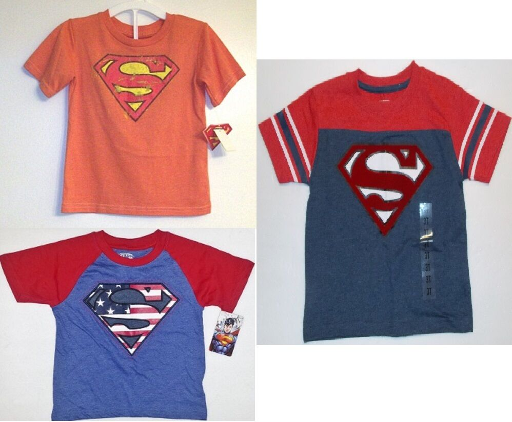 SIZE 2T 3T NWT SUPERMAN TODDLER BOY CLOTHES T-SHIRT 4T