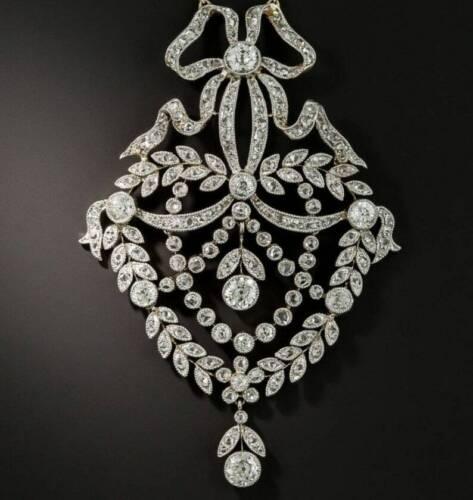 2.41Ct Diamond Engagement Victorian Edwardian Esta