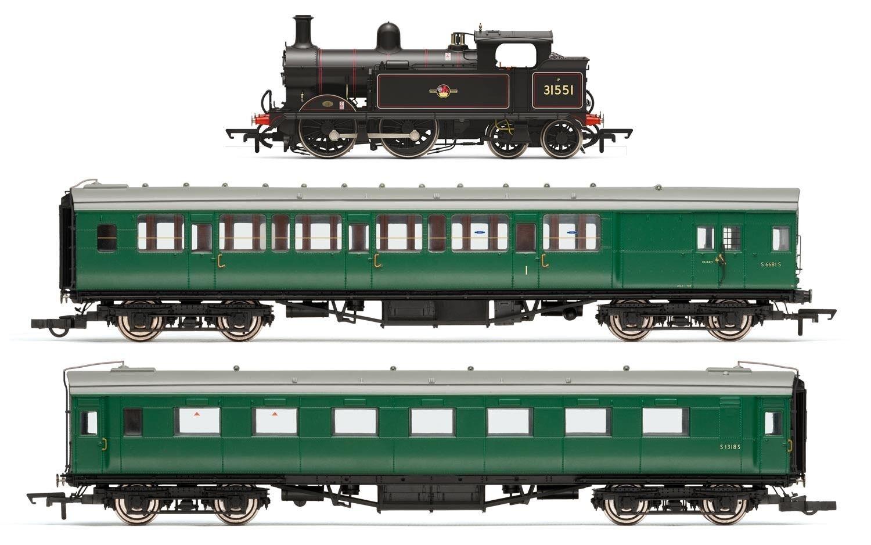 Hornby R3512, quien h clase 0-4-4T tarde BR tren Pack-Edición Limitada