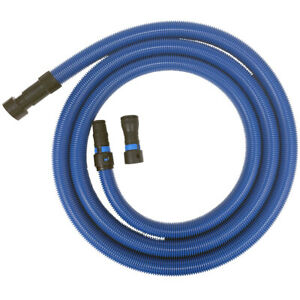 Cen-Tec-Systems-16-Ft-Antistatic-Hose-w-Power-Tool-Adapter-for-Dust-Collection