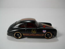 Hotwheels Porsche 356A Outlaw Black Paint 1/64 Scale JC42