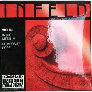 Infeld-IR100-Medium-Composite-Red-Violin-Strings-4-4-Size