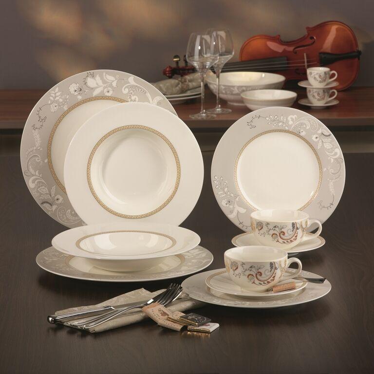 Amelia Palacio décor Combi Service 12 personnes 90tlg Porcelaine Vaisselle Set Nouveau