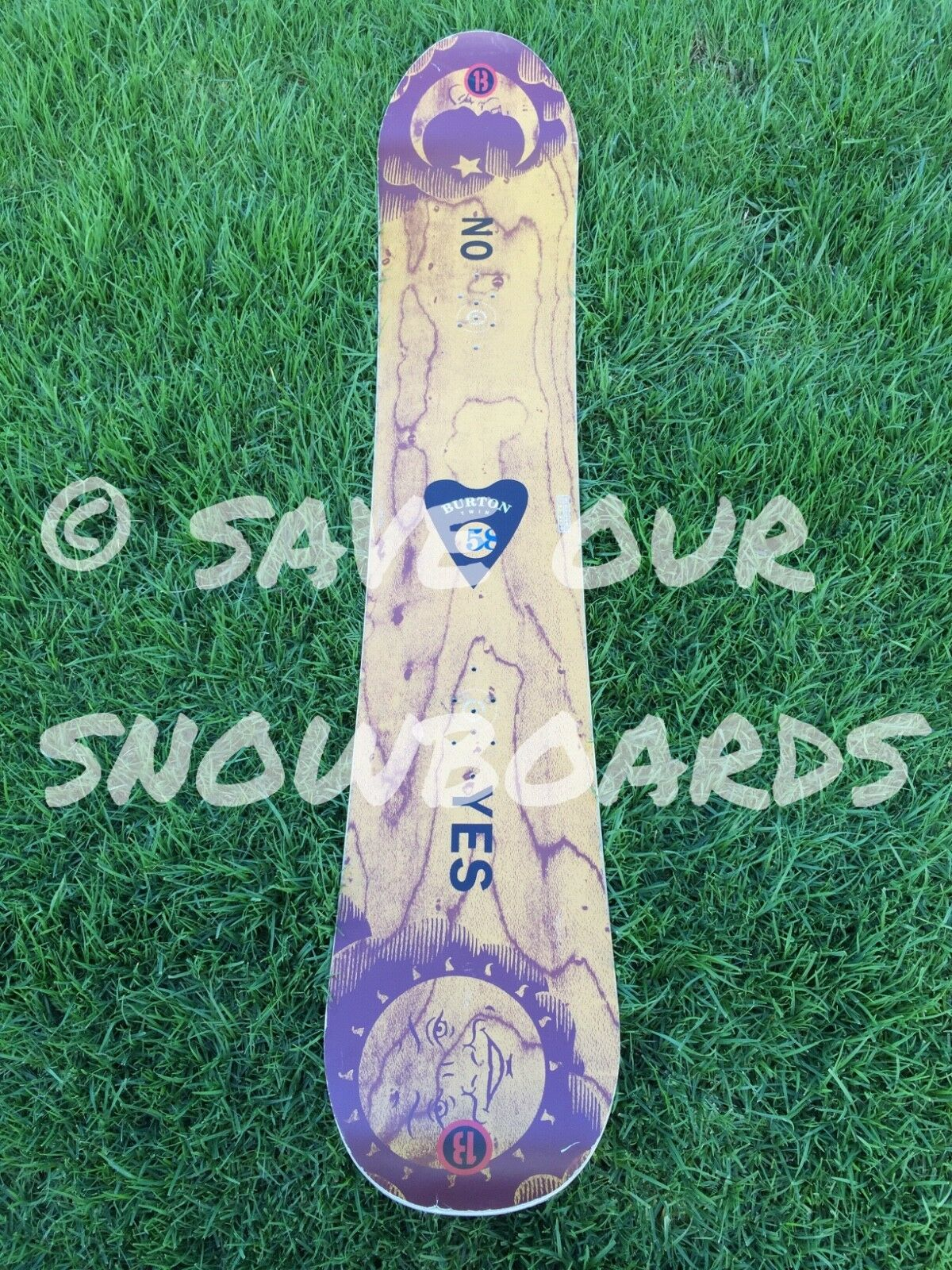 Vintage  1993   1994 Burton Twin  Ouija  158 Snowboard FREE SHIPPING  enjoy saving 30-50% off