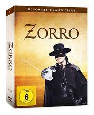 Zorro - Die komplette zweite Staffel (Serie, 2) 7 DVD Edition NEU + OVP!