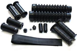 PIECE-Pieces-en-caoutchouc-noir-S50-S51-S70-14-Pieces-avec-Repose-pieds