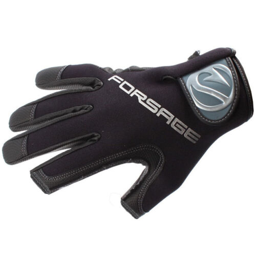 2 Cut Finger Fishing Hunting Gloves Cold Weather Angler Neoprene A-015