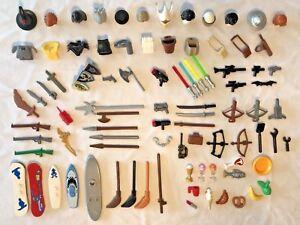 Mixed-Lego-Minifigure-Accessories-x-50-Lego-Star-Wars-Guns-Job-Lot-Bundle-Sets