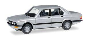 BMW-528-i-E28-1981-berline-gris-metallise-Herpa-Echelle-1-87-HO