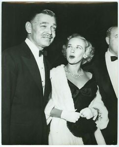 CLARK GABLE, KAY WILLIAMS original candid photo 1950s | eBay
