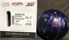 Columbia 300 Savage Life Bowling Ball NIB 1st Quality