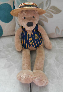 Henley Royal Regatta Large Slackajack Ours en Peluche Jellycat Jelly Cat J615 Boater