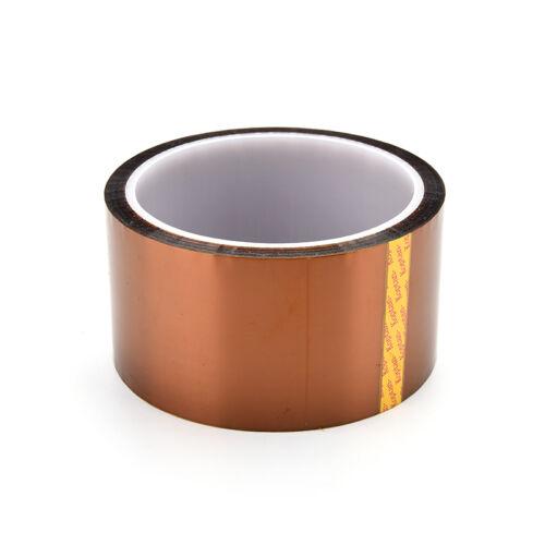 Exquisite 50mm 5cmx30M Kapton Tape High Temperature Heat Resistant Polyimide JH