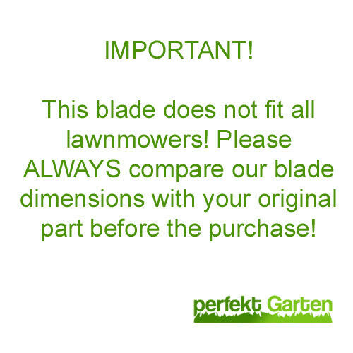 adaptors 55 CM UNIVERSAL BLADE for lawn mowers with BASKET WARRANTY
