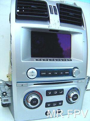BA FPV FORD 6 cd radio ICC GT F6 XR6 XR8 XT BF Territory SY SX takes sat nav