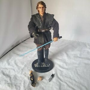 SIDESHOW-STAR-WARS-Anakin-Skywalker-12-034-1-6-ACTION-FIGURE-SITH-LORD-LOOSE