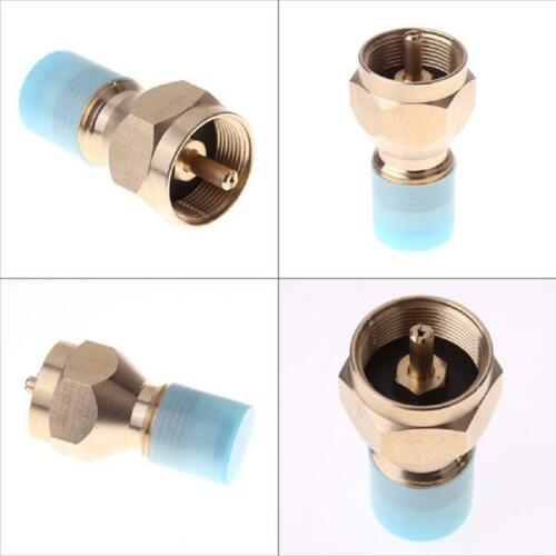 Outdoor Picnic Gas Stove Burner Converter Connector Gas Can Tank Adapter T