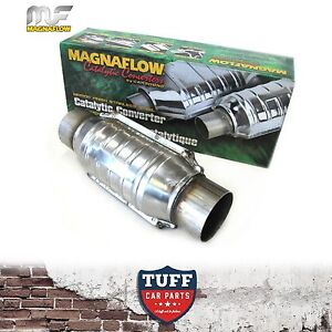 Magnaflow-54306M-2-5-034-200-CPI-Metal-Core-Stainless-Steel-Cat-Catalytic-Converter