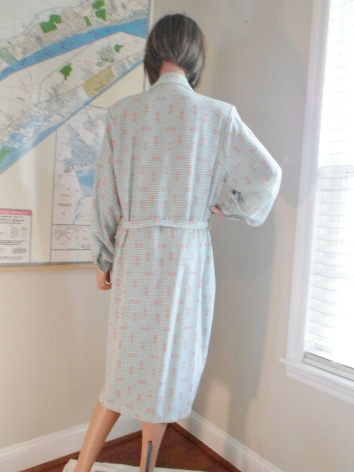 Vtg 70s Breli Originals  Belted Shirt Dress~Mint … - image 7