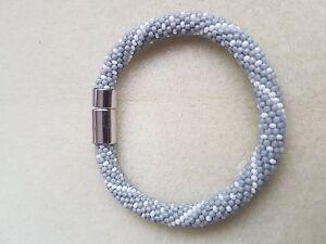 Beads-bracelet-handmade-crochet-toho-preciosa-gift