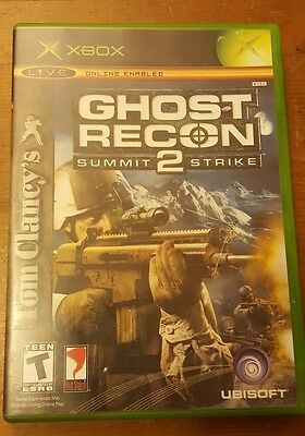 XBOX - Ghost Recon 2 - Summit Strike (Live Online Enabled) Complete