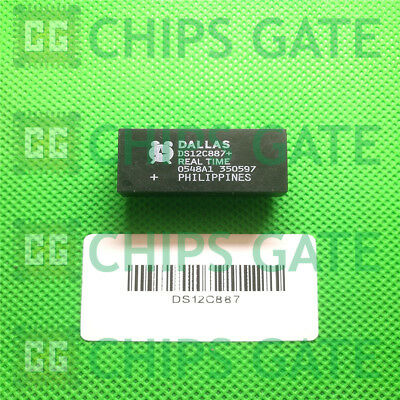 5pcs DS12B887 DALLAS Real-Time Clock DIP