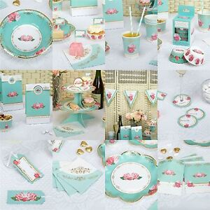 Eternal Rose Party Supplies Wedding Birthday Baby Shower Tea Party