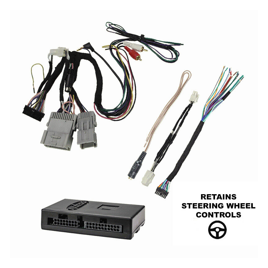 radio replacement harness interface retain onstar bose xm chime rh ebay com
