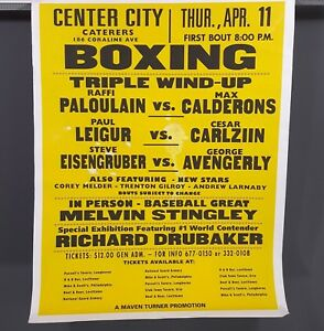 CREED-2-Screen-Used-Boxing-Event-Poster-from-Front-Street-Gym