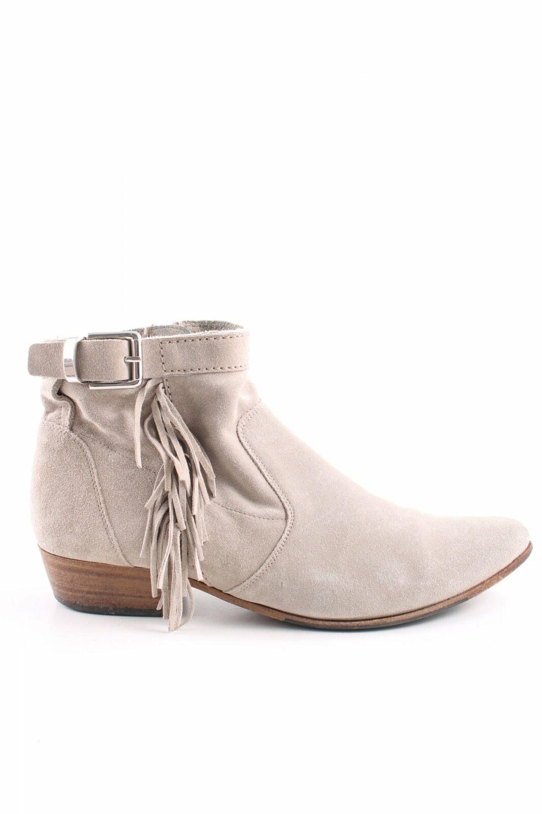 KENNEL + SCHMENGER Ankle Stiefel creme Business-Look Damen Gr. DE 38,5 Leder