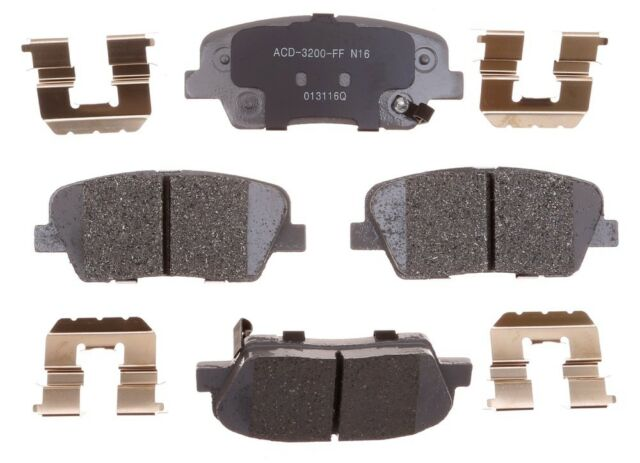 ACDelco 14D340ACH Advantage Ceramic Rear Disc Brake Pad Set
