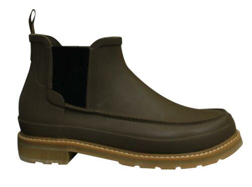 Hunter Original Short Mock Toe Chelsea Mens Wellington Boots MFS9014RMA LKB