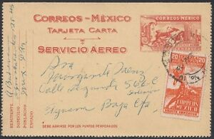 MEXICO, 1947. Air Letter Card H&G FA4, E6, M.C. - Tijuana