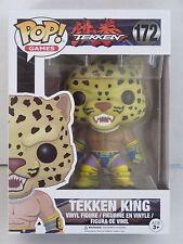 Funko Pop Games Tekken Tekken King #172 NMIB Free Protector