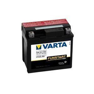 Varta-MOTO-Batterie-ytx5l-bs-YTX-5l-bs-NEUF-12-V-4ah-113x70x105-mm