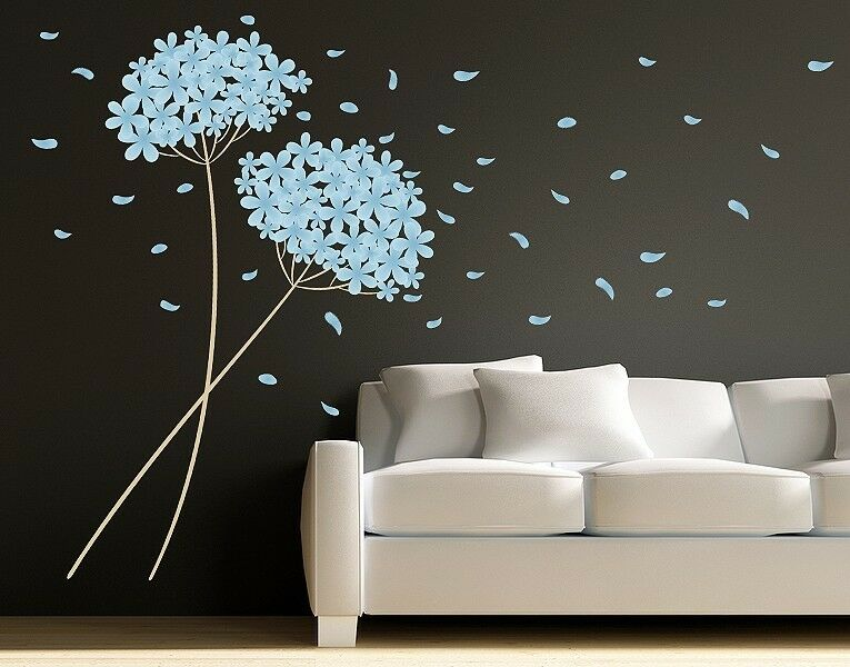 Blowball Leaves - Wall Decal Stickers