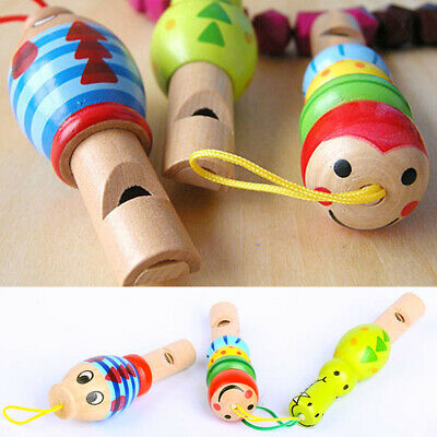 Instrument Developmental Intellectual Baby Musical Wooden Whistle Animal