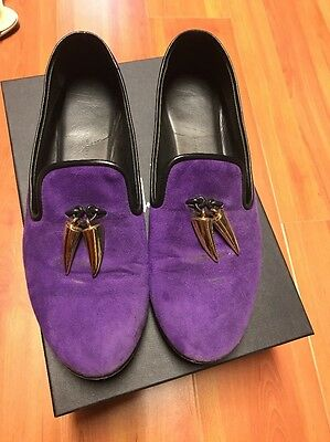 Gold horn Dalila Suede Loafers Sz 38