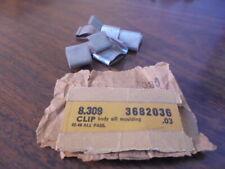 1942 1946 1947 1948 Chevrolet Fleetline 6 Nos Rocker Moulding Clips 3682036