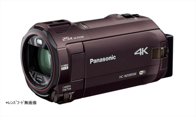 Panasonic Digital 4K Video Camera WX995M 64GB HC-WX995M-T Japan NEW
