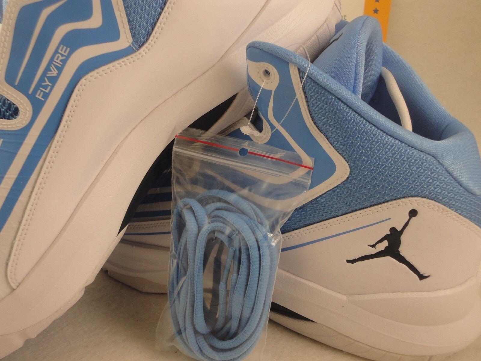 Nike Jordan Aero Mania, White / University Blue, Flywire, UNC, Comfortable Comfortable and good-looking