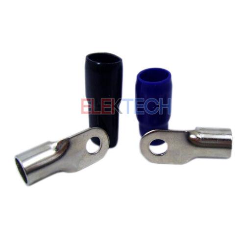 Stinger Select SSRT0 Ring Terminals 1//0 Gauge Brass//Satin Premium Blue//Black