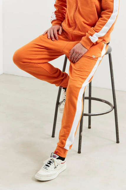 25b062c4 MSRP: $80 SERGIO TACCHINI FRENCH TERRY ORANGE TRACK PANTS US MEN'S SIZE (XL)